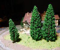 20 Tannen, Nadelbäume, je 10 Stück 95 und 150 mm hoch