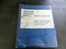 Heavy Equipment Manuals Books For Toyota And Forklift Sale Ebay. Toyota 6hbw30 6hbe30 6hbe40 6hbc30 6hbc40 Forklift Parts Catalog. Toyota. Toyota Forklift 6hbe30 Wiring Diagram At Scoala.co