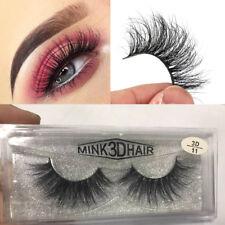 5 Pairs SKONHED Siberian Mink Hair False Eyelashes Messy LongLashes Multilayer