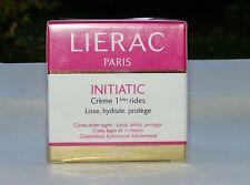 Crème 1° Rides Lissante,énergisante LIERAC INITIATIC 40 ml 100% Made in France