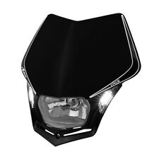 MASCHERINA PORTAFARO RACETECH V-FACE LED NERA (Black Headlight) R-MASKNR00009