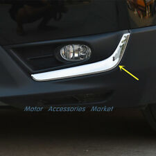Chrome Stainless Steel Front Fog Light Lower Trim for Honda CRV CR-V 2017 2018