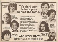 1979 TV AD~CHILD STARS~TONY DOW~MELISSA GILBERT~LEAVE IT TO BEAVER~SCOTT BAIO