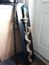 2x Display swords 1 is duplicate used in kill bill films