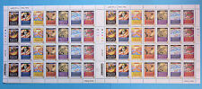 GREAT BRITAIN. SG2750/56 COMPLETE SHEET OF HARRY POTTER STAMPS  MNH