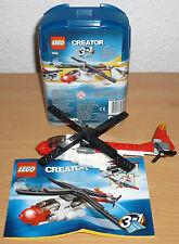 Lego Creator 4918 Hubschrauber v. 2007 + OBA (mit Box)