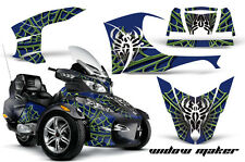 AMR Racing Can Am BRP RTS Spyder Graphic Kit Wrap Street Bike Decal WIDOW MAKER