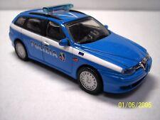 "Police Car ""Polizia"" Italian Alfa Romeo 156SW 1-43 Scale Newray Models"