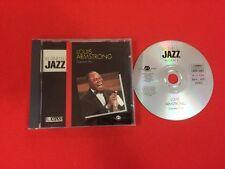 LOUIS ARMSTRONG GREATEST HITS GÉNIES JAZZ TRÈS BON ÉTAT CD