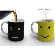 Heat Hot Reactive Changing Color Magic Mug Ceramic Coffee Tea Sensitive Cup SV