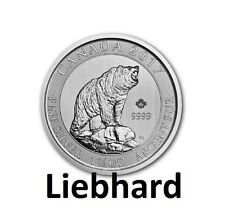 8$ Kanada / Canada Silber / Silver Grizzly 2017 1,5 OZ