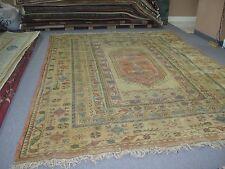 Vintage Turkish Milas Melas Kazak Azari Rug Hand Knotted 8'-6 x 11'-4 Wool