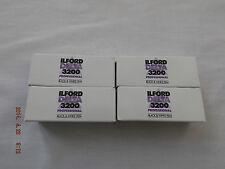 Ilford Delta 3200 120 Pellicola (confezione da 4)