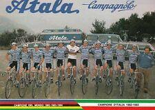ATALA 85 Campione d'Italia cyclisme cp carte postale Ciclismo Cycling