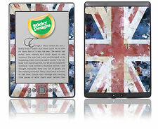 Amazon Kindle 4 Ebook Reader-Gran Bretaña de Union Jack Piel pegatina cubierta