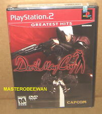 Devil May Cry New Sealed (White security strip On Top) PlayStation 2, 2002) PS2