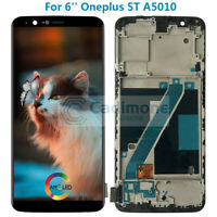 AMOLED For Oneplus 5T A5010 LCD Display Touch Screen Assembly Replacement +Frame