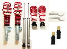 RS Premium RED SERIES Gewindefahrwerk Gas Protektion Kit für Audi A2 VW Polo 9N