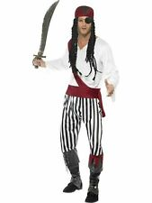 Mens Pirate Man Fancy Dress Costume Men's Pirate Outfit