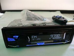 JVC Digital Media Receiver Bluetooth USB Satellite Radio Ready KD-X340BTS (used)