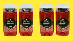 Old Spice Aluminum Free Deodorant for Men, Swagger Lime & Cedarwood Scent 4 Pack