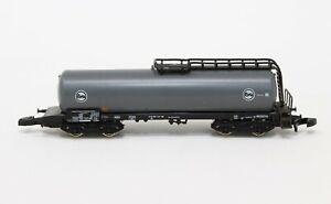 """Z Scale Marklin 8660 Gray """"Eva"""" 4-Axle Tank Car"""