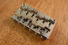 HARDTAIL BRIDGE VINTAGE STYLE CHROME FOR STRAT OR TELECASTER