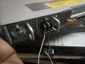 CISCO ASR-920-12SZ-IM 2 DC POWER  AdvancedMetroIPacces  1588 & 4 *10GE PORTS