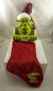 Shrek The halls Christmas stocking Rare unusual heavy Kurt S. Adler