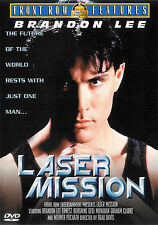 Laser Mission ~ Brandon Lee Ernest Borgnine ~ DVD ~ FREE Shipping USA