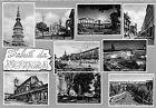 Cartolina - Postcard - saluti da - Novara - Vedutine - anni '60
