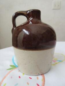 Antique Red Wing Stoneware Fantasy Brown Top half (½) pint jug – bottom marked