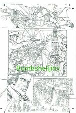 Star Wars Knights of the Old Republic #20 page 2 Original Art- Bong Dazo