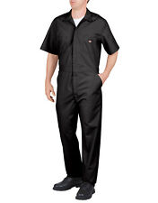 Dickies COVERALLS Mens Short Sleeve Coverall 3399 Khaki Dark Navy Black