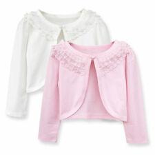 Girls Kids Bolero Shrug Short Cardigan for Bridesmaids/Flower Girls 1-8 Years
