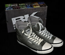 New - British Knights BK Atoll mid pu Grey/Navy Snr71 Boots / Trainers / Shoes