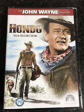 Hondo (DVD, 2007) John Wayne Special Collectors Edition UK Region 2 New & Sealed