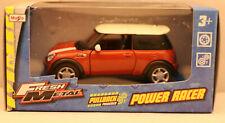 Modellauto/Maisto/Power Racer/Pullback/MINI Cooper 5 / rostrot /3+ / OVP