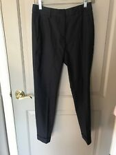 Buberry Brit Women's Navy Wool Dress Pants Size 4 NEW
