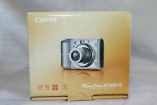 Canon PowerShot A1100 IS 12.1MP Digital Camera, Gray + Case Logic FPOR