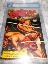 1947 New Heroic Comics #40 Jack Dempsey Cover PGX VF 9.0 VF/NM
