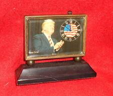 Commemorative President Donald Trump Mechanical Clock--January 20, 2017