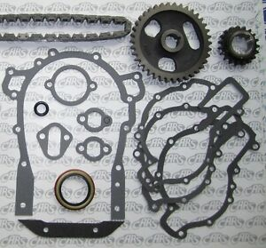 1957-1966 Buick Timing Chain, Gears & Gasket Kit | Nailhead 364 400 401 425 c.i.