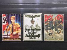 Nazi, Hitler Propaganda  - Label, Cinderella, Poster Stamps.