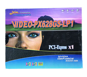 JATON GeForce 8400 GS VGA Video Card PX628GS-LP1 512MB PCI Express NVIDIA