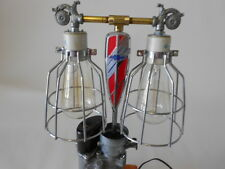 Chevy 6 Cylinder Carburetor Lamp, Steampunk, Auto Shop Lamp