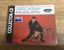 # Johnny HALLYDAY Tu parles trop Bien trop timide CD 4 titres 1991 NEUF SCELLÉ