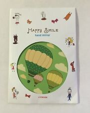 Happy Smile makeup hand mirror air balloons *FREE SHIPPING* C13