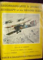 BOOK  MILITARY FULLY ILLUSTRATED RECONNAISSANCE & BOMBER AIRCRAFT WW1 1914-1918