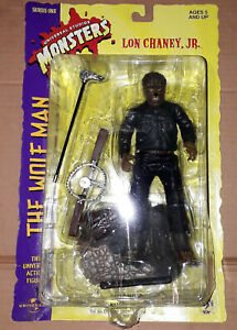 Universal Studios Monsters Lon Chaney JR The Wolf Man Action Figure Sideshow Toy